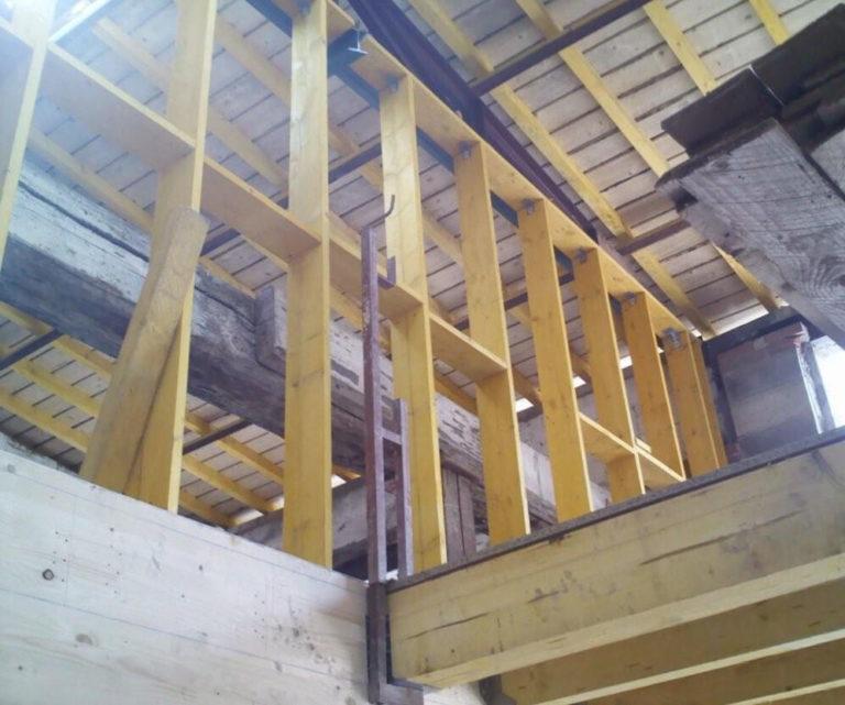 Ossature pour extension surface aménageable