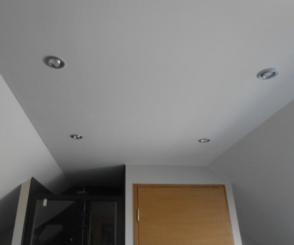 plafond de l'aménagement des combles