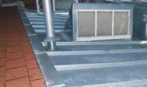 Création et restauration de toiture en zinc